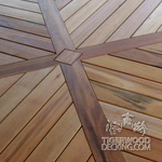 Detail Done with Tigerwood Decking