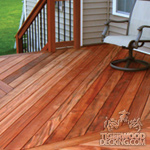 All Natural Tigerwood Decking