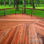Tigerwood Deck Picture
