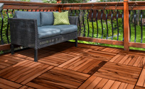 tigerwood deck tiles